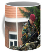 Members Of A Recce Or Scout Team Coffee Mug by Luc De Jaeger