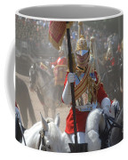 A British Life Guard Of The Household Coffee Mug by Andrew Chittock