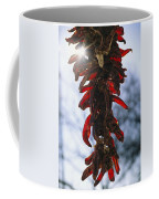 A Bunch Of Red Peppers Hung To Dry Coffee Mug by Stephen St. John