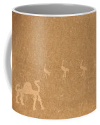 A Close View Of Ancient Petroglyphs Coffee Mug by Taylor S. Kennedy
