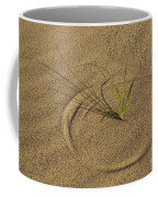 A Compass In The Sand Coffee Mug by Susan Candelario