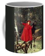 A Delicate Balance Coffee Mug by Francois Brunery