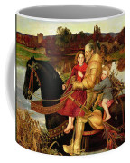 A Dream Of The Past Coffee Mug by Sir John Everett Millais
