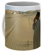 A Local Guide Muses That This Area Coffee Mug by Stephen Alvarez