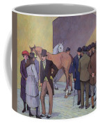 A Morning At Tattersall's Coffee Mug by Robert Polhill Bevan