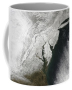 A Severe Winter Storm Along The United Coffee Mug by Stocktrek Images