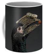 A Trumpeter Hornbill Ceratogymna Coffee Mug by Joel Sartore