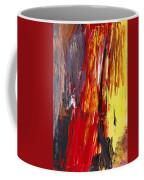 Abstract - Acrylic - Rising Power Coffee Mug by Mike Savad