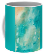 Abstract Art Colorful Bright Pastels Original Painting Spring Is Here II By Madart Coffee Mug by Megan Duncanson