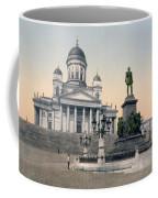 Alexander II Memorial At Senate Square In Helsinki Finland Coffee Mug by International  Images