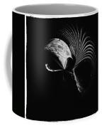 Alien Mask Coffee Mug by Skip Nall