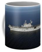Amphibious Assault Ship Uss Peleliu Coffee Mug by Stocktrek Images