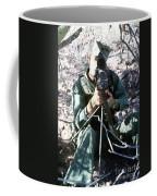 An Army Ranger Sets Up An Anpaq-1 Laser Coffee Mug by Stocktrek Images
