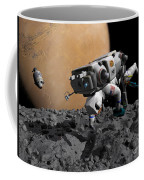 An Astronaut Makes First Human Contact Coffee Mug by Walter Myers