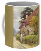 An Evening Gossip Coffee Mug by Joshua Fisher