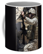 An Infantryman Talks To His Marines Coffee Mug by Stocktrek Images