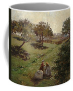 Apple Orchard Coffee Mug by Luther  Emerson van Gorder