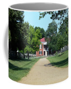 Appomattox County Court House 2 Coffee Mug by Teresa Mucha