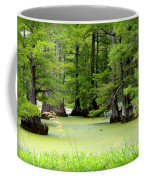 Arkansas Lake With Cypresses Coffee Mug by Carol Groenen