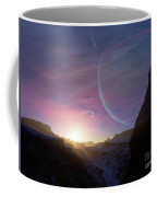 Artists Concept Of A Scene Coffee Mug by Brian Christensen