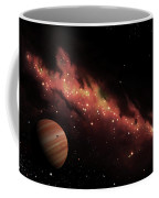 Artists Concept Of An H II Region Coffee Mug by Brian Christensen
