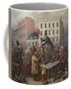 Auction In Chatam Street Coffee Mug by E Didier