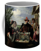 Autolycus Scene From 'a Winter's Tale' Coffee Mug by  Robert Leslie