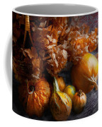 Autumn - Gourd - Still Life With Gourds Coffee Mug by Mike Savad