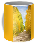 Autumn Back County Road Coffee Mug by James BO  Insogna