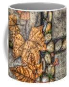 Autumn Texture Coffee Mug by Wayne Sherriff