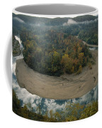 Autumnal View Of One Of The Loops Coffee Mug by Randy Olson