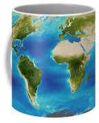 Average Plant Growth Of The Earth Coffee Mug by Stocktrek Images