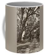 Back To The Future Sepia Coffee Mug by Steve Harrington