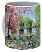 Bakewell Bridge - Derbyshire Coffee Mug by Trevor Neal