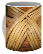 Bamboo And Wood Construction Coffee Mug by Yali Shi