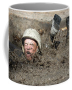 Basic Cadet Trainees Attack The Mud Pit Coffee Mug by Stocktrek Images