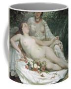 Bathers Or Two Nude Women Coffee Mug by Gustave Courbet