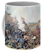 Battle Of Franklin November 30th 1864 Coffee Mug by American School