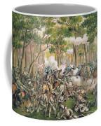 Battle Of The Wilderness May 1864 Coffee Mug by American School