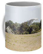 Belgian Paratroopers Descending Coffee Mug by Luc De Jaeger