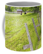 Belted Galloway Cows Farm Rockport Maine Coffee Mug by Keith Webber Jr