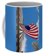 Betsy Ross Flag In Chicago Coffee Mug by Semmick Photo
