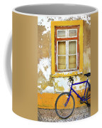 Bike Window Coffee Mug by Carlos Caetano