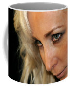 Blond Woman Strict Coffee Mug by Henrik Lehnerer