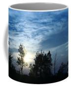 Blue Canvas Sky 03 Coffee Mug by Aimelle