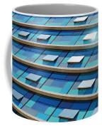 Blue Facade Coffee Mug by Carlos Caetano
