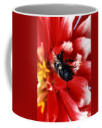 Blue Orchard Bee Coffee Mug by Science Source