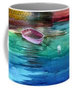 Boat And The Buoy Coffee Mug by Anil Nene