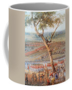 British Troops Surrender At Yorktown Coffee Mug by Photo Researchers