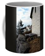 Browns Head Lighthouse Coffee Mug by Skip Willits